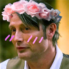 hannibal; flower crown