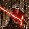 TFA-Kylo Ren saber snow