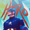 "MCU - Captain America; ""HERO"""