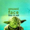 chiara: movie: star wars yoda not amused