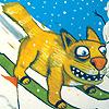 кот зима crazy