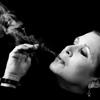 Carrie b/w smoke