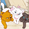 aristocats three kittens
