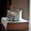 stock: book & mug