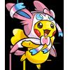 Sylveon Poncho Pikachu