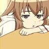 slump, sigh, tired