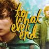 movie → lotr: to whatever end