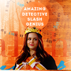 Martine: B99/Amy detective/genius