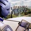 Liara, Reading