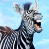 leesa_perrie: Laughing Zebra