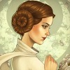 Cordelia Delayne: [star wars] art!princess leia
