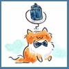 Schrodinger TARDIS bow tie