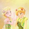 Frozen :: Elsa & Anna Flowers