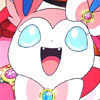Sylveon Happy Contest Smile