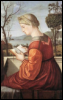 Carpaccio virgin reading
