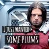 avengers:bucky plums