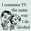 Alcohol and TV