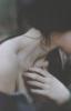 girl, raven hair, aesthetic, dark