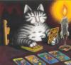 kliban tarot cat