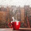 дождик за окном