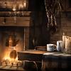 O Demanding One: HP: Inside Hagrid's Hut