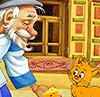 дедушка и котейко