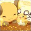 raichu, dendenne, cute, Pokémon
