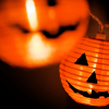 Stock Halloween Pumpkin Lantern