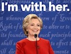 hillary i'm with her