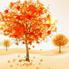 lijahlover: Autumn red and gold tree
