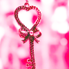 tracyj23: Love - pink heart key