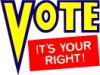 vote: your right
