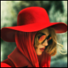 Шляпка, платочек