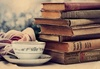books, tea