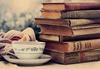 tea, books
