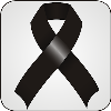 Jo Ann: Black mourning ribbon
