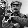 Ленин  с котом