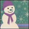 winter-lavender snowman