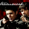 sam & dean teamwork
