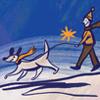 winter, dog, murphy