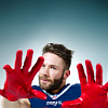 beccathegleek: Julian Edelman - Hands Up - Patriot Foot