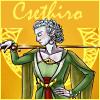 Csethiro with sword