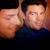 Star Trek: AOS - Spock/Bones (smiling)