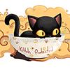 кошка в чашке