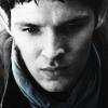 beccathegleek: Merlin - Looking Down - Merlin