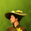 Claire - Hat Profile (green) - Outlander