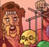 Skull chimes from the Craft Berserker