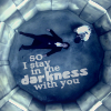 Sherlock/Moriarty - in the darkness