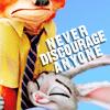 Zootopia: Never Discourage Anyone