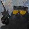 vkhabi: кот с маузером